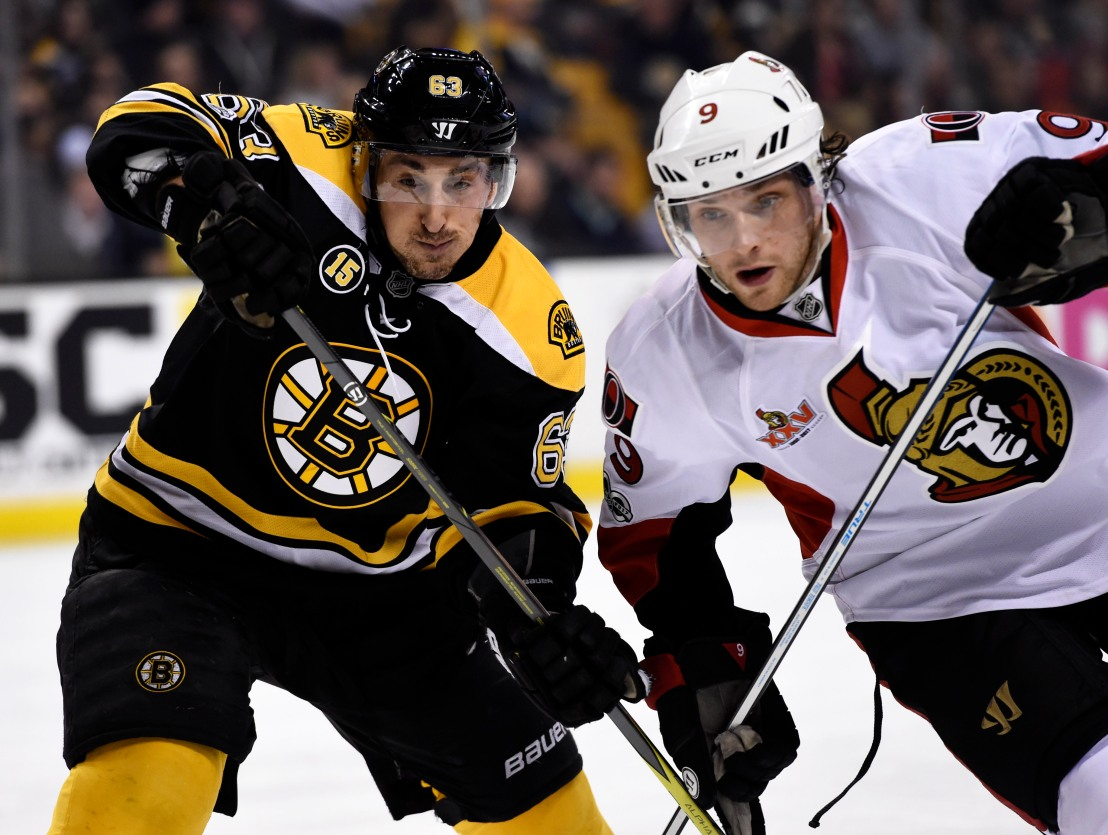 Bruins take Game 1 thanks to Marchand late score.